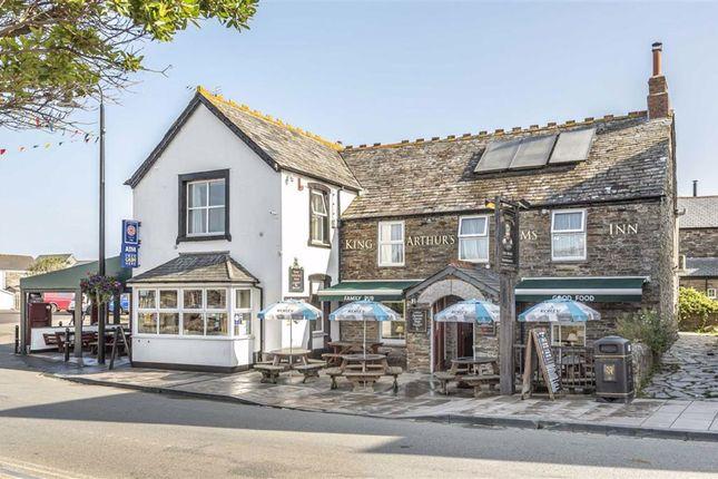 Thumbnail Pub/bar for sale in King Arthur's Arms Inn, Fore Street, Tintagel