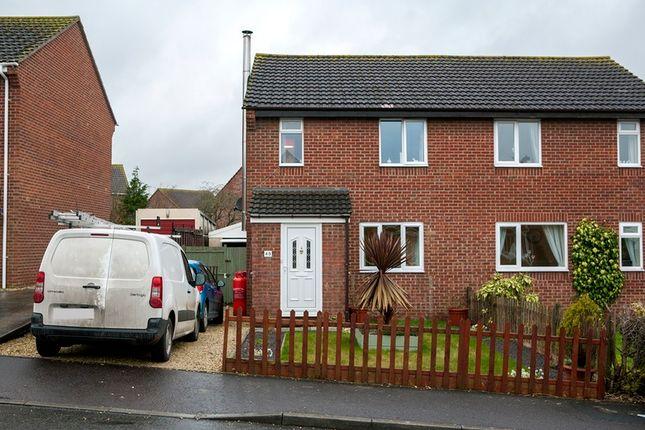 Thumbnail Semi-detached house for sale in Woolavington, Bridgwater, Somerset