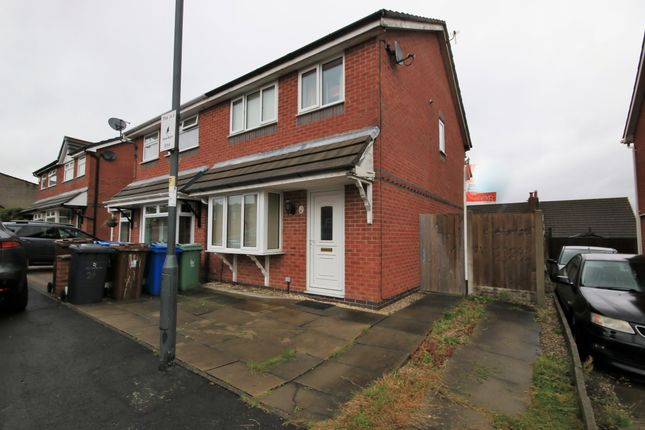 Thumbnail Semi-detached house for sale in Millbeck Crescent, Pemberton, Wigan