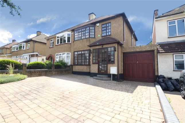 Thumbnail Semi-detached house for sale in Hillview Avenue, Hornchurch