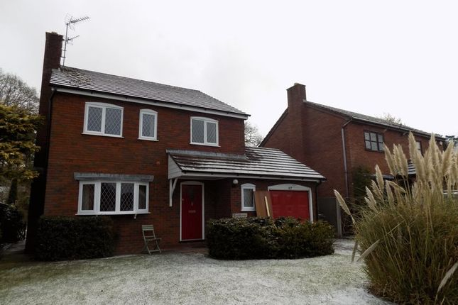 4 bed detached house to rent in Chestnut Road, Loggerheads, Market Drayton