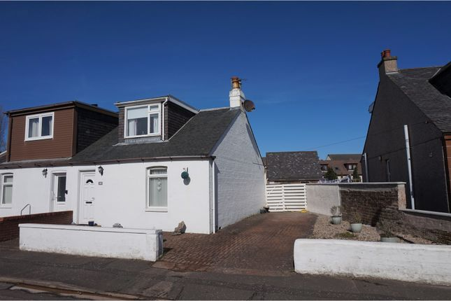 Thumbnail Semi-detached house for sale in Waterloo Road, Prestwick