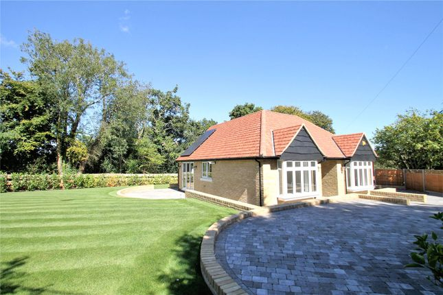 Thumbnail Detached bungalow for sale in Shaw Road, Tatsfield, Westerham