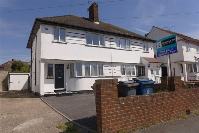 Thumbnail Semi-detached house for sale in College Hill Road, Harrow Weald, Middlesex