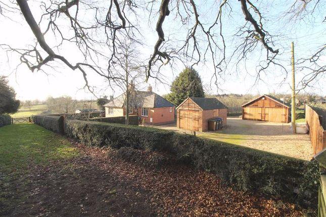 Thumbnail Detached bungalow for sale in Vicarage Lane, East Haddon, Northampton