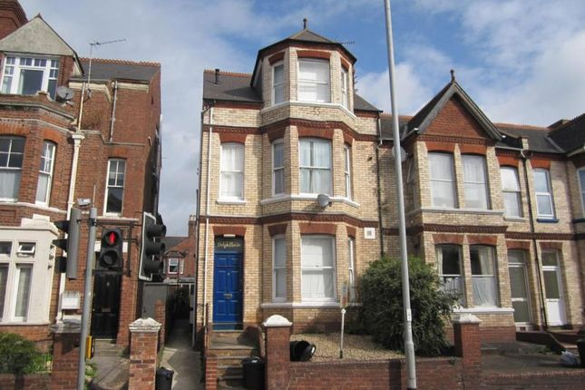 Thumbnail Flat to rent in Pinhoe Road, Mount Pleasant, Exeter, Devon