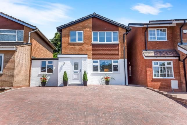 Thumbnail Link-detached house for sale in Segundo Road, Walsall, .