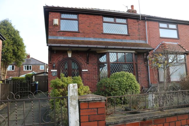 Thumbnail Semi-detached house for sale in Byron Avenue, Droylsden, Manchester
