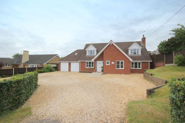 Thumbnail Detached house for sale in Kabin Road, Costessey, Norwich
