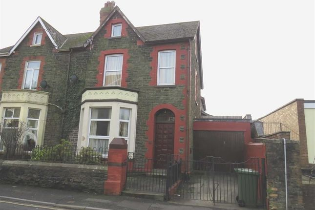 Thumbnail Semi-detached house for sale in Courthouse Street, Pontypridd