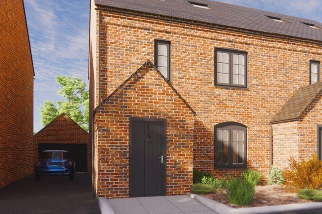 Thumbnail Semi-detached house for sale in Plot 2, Dairy Mews, Luke Lane, Brailsford