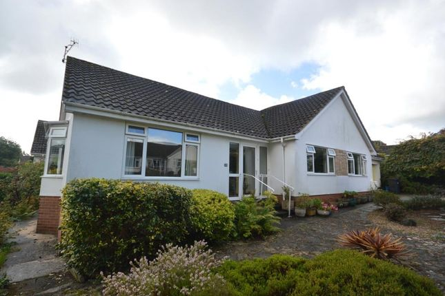 Thumbnail Detached bungalow for sale in Higher Woolbrook Park, Sidmouth, Devon