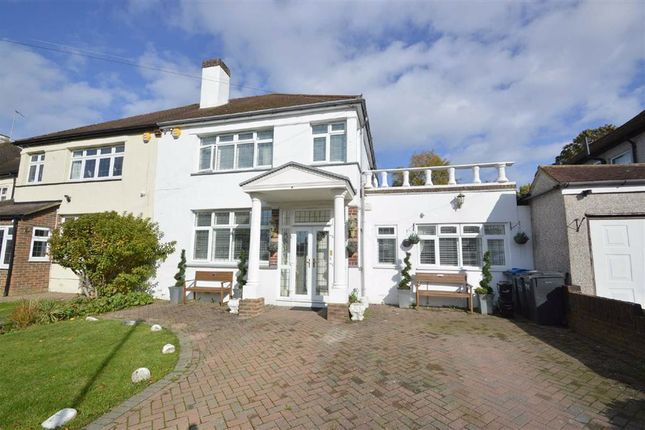 Thumbnail Semi-detached house for sale in Bradmore Way, Coulsdon, Surrey
