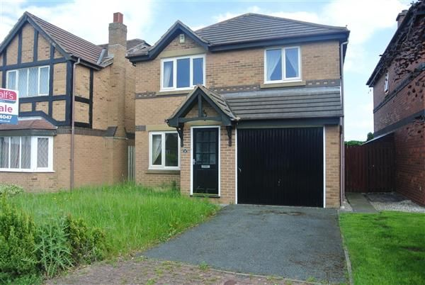 Thumbnail Detached house for sale in Mallard Court, Blackpool