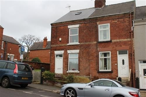 Thumbnail End terrace house to rent in Rutland Road, Chesterfield