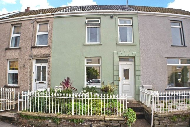 Thumbnail Terraced house for sale in Fforest Hill, Aberdulais, Neath, Neath Port Talbot.
