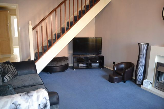 Lounge of Muncaster Gardens, East Hunsbury, Northampton NN4