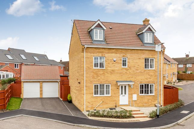 Thumbnail Detached house for sale in Steeple Way, Rushden