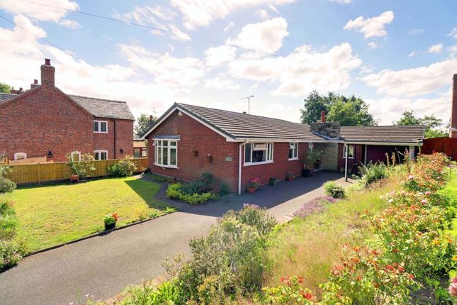 Thumbnail Detached bungalow for sale in Upper Way, Upper Longdon, Rugeley