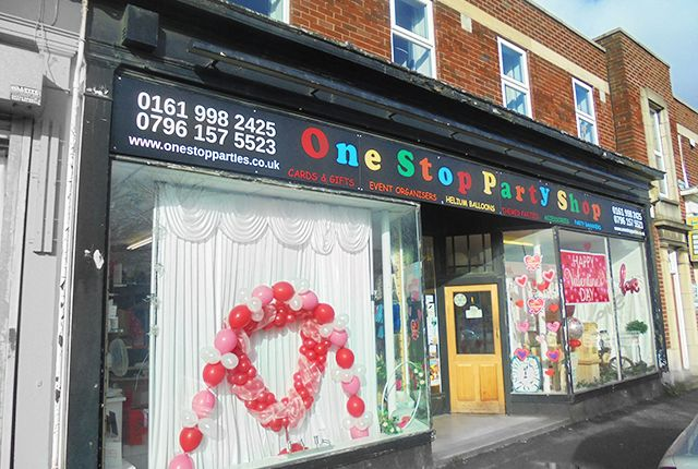 Thumbnail Retail premises for sale in Palentine Road, Manchester