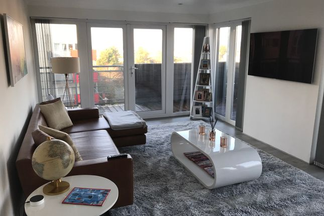 Thumbnail Flat for sale in Grand Union Heights Northwick Road, Wembley