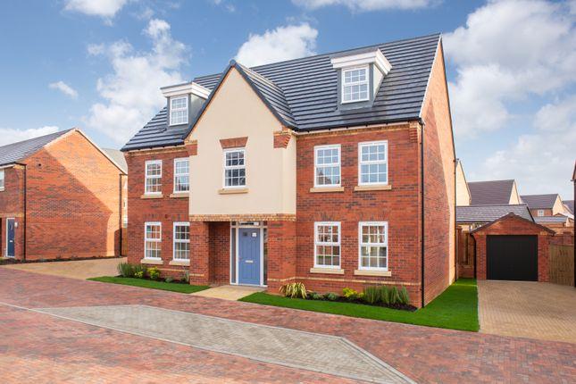 "Thumbnail Detached house for sale in ""Lichfield"" at Carters Lane, Kiln Farm, Milton Keynes"