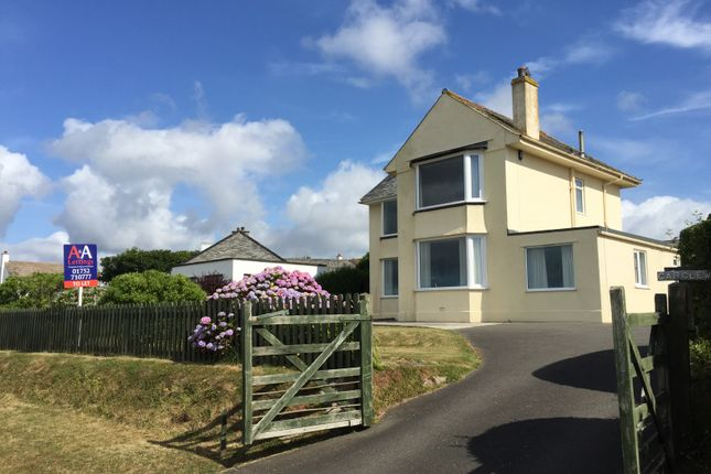 Thumbnail Detached house to rent in Cliff Road, Crafthole, Torpoint