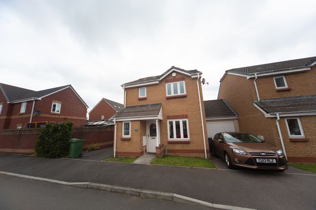 Thumbnail Link-detached house to rent in Wyncliffe Gardens, Cardiff