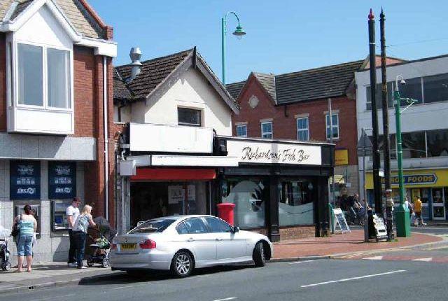 Thumbnail Retail premises for sale in Poulton Street, Fleetwood