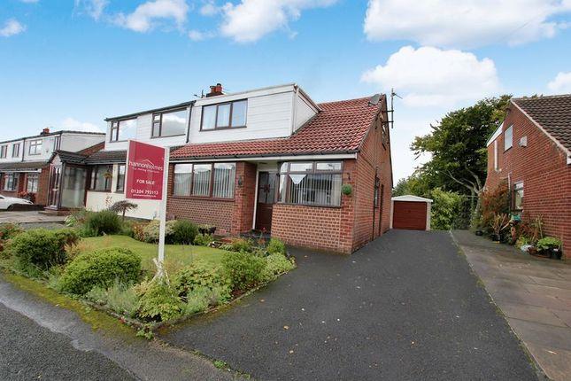 Thumbnail Semi-detached bungalow for sale in Heaton Avenue, Little Lever, Bolton