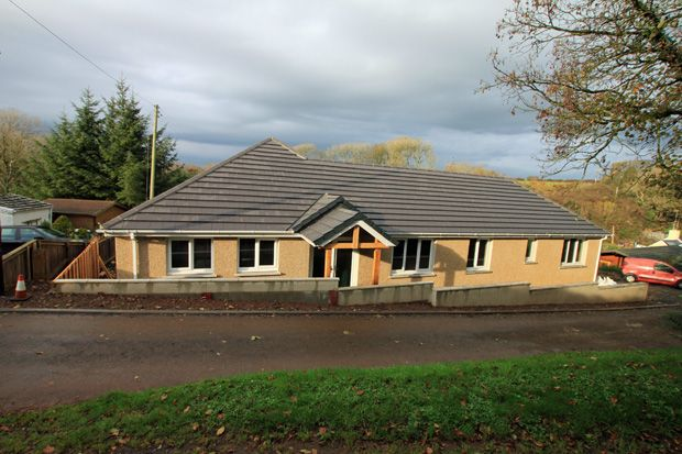 Thumbnail Detached bungalow for sale in Broadlay, Ferryside, Carmarthenshire