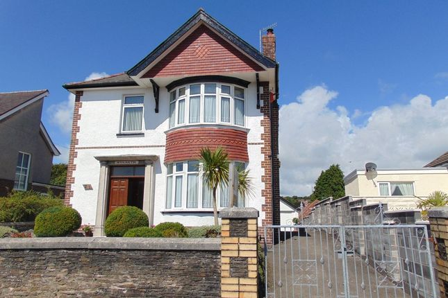 Thumbnail Detached house for sale in Gower View, Llanelli