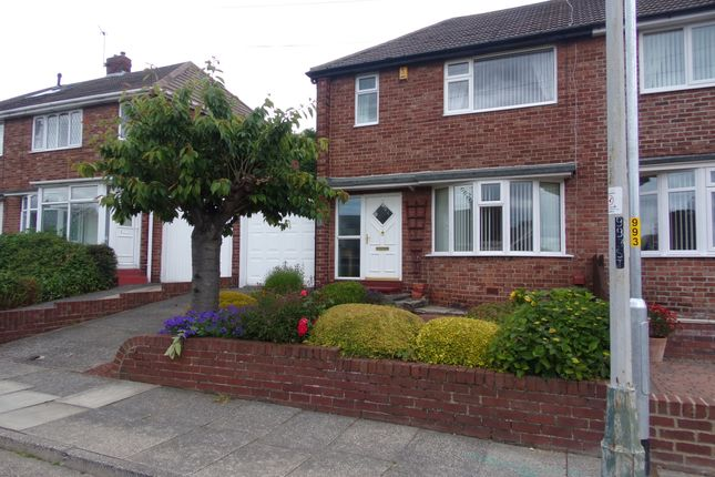 Thumbnail Semi-detached house for sale in Rosewood Crescent, Seaton Sluice, Whitley Bay