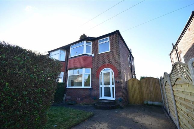 Thumbnail Semi-detached house to rent in Keswick Road, Heaton Chapel, Stockport, Cheshire