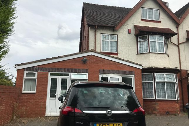 Thumbnail Semi-detached house for sale in Grove Lane, Handsworth