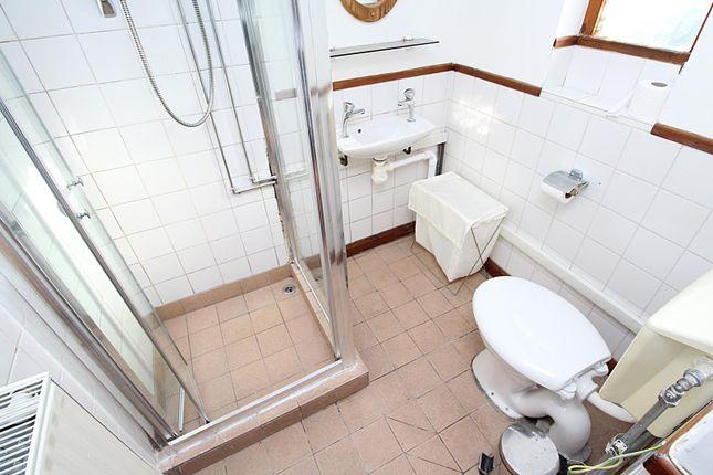 Flat Shower Room of Park Crescent, Treforest, Pontypridd, Rhondda Cynon Taff CF37
