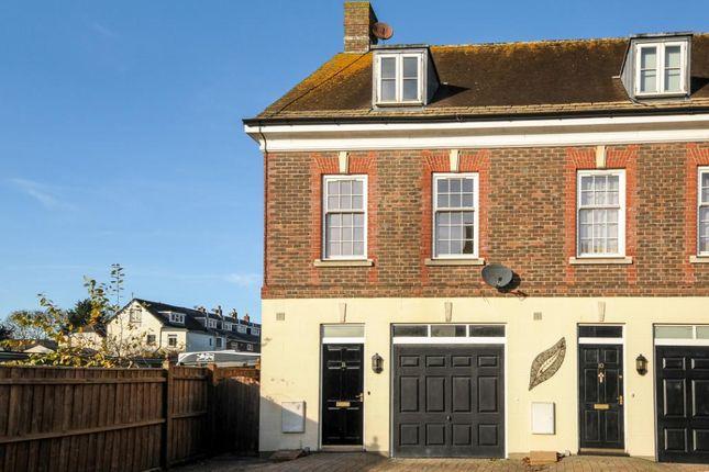 Thumbnail End terrace house for sale in St. Leonards Court, St. Leonards Avenue, Blandford Forum, Dorset