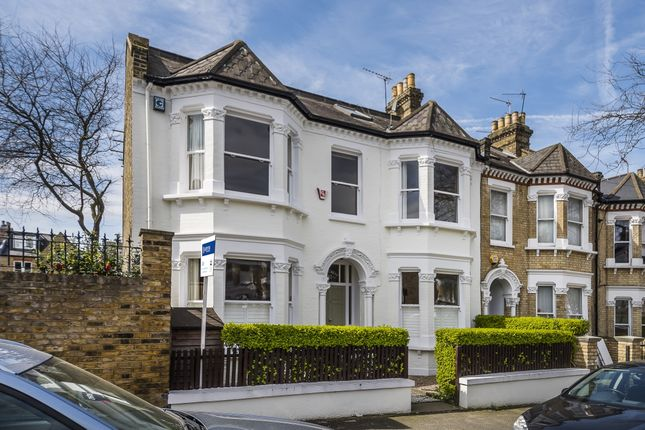 Thumbnail End terrace house to rent in Franconia Road, London