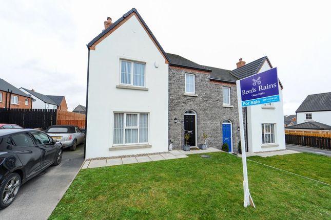 Thumbnail Semi-detached house for sale in Forge Walk, Ballygowan, Ballygowan