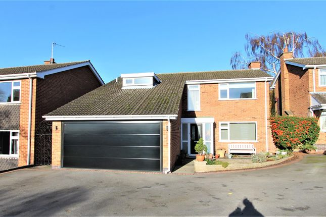 Thumbnail Detached house for sale in Holmleigh Gardens, Thurnby, Leicester