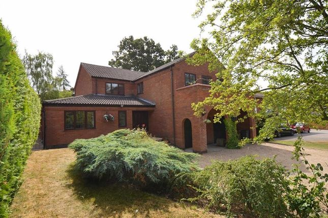 Thumbnail Detached house for sale in Park Hill, Gaddesby, Leicester