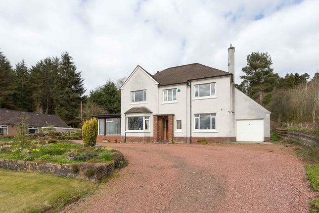 Thumbnail Detached house for sale in Linton Bank Drive, West Linton, Borders
