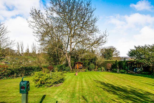 Thumbnail Detached bungalow for sale in Back Lane, Hardingstone, Northampton
