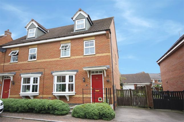 Thumbnail Semi-detached house for sale in Mill Furlong, Coton Meadows, Rugby, Warwickshire