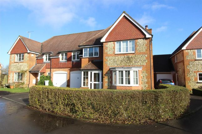 Thumbnail Semi-detached house for sale in Fiveways Close, Baydon, Marlborough