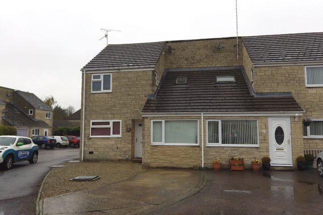 Thumbnail End terrace house for sale in Rose Way, Cirencester