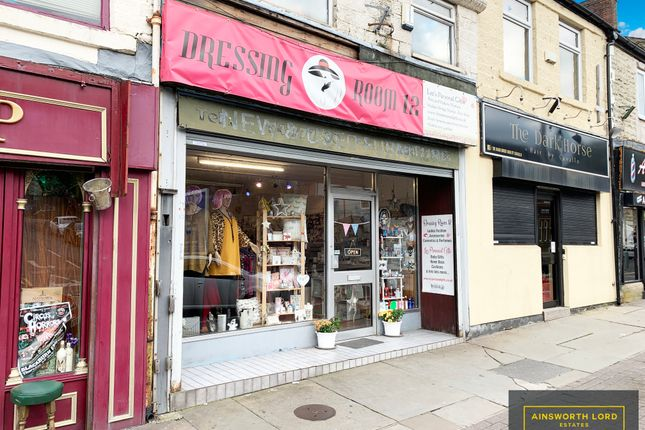 Thumbnail Commercial property for sale in Retail Shop Premises, Duckworth Street, Darwen