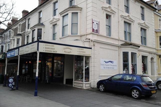 Thumbnail Retail premises to let in 18A Mostyn Street, Llandudno