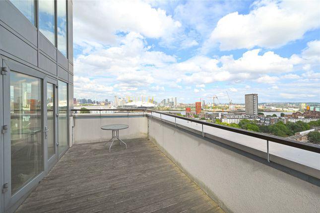 Terrace of City Tower, 3 Limeharbour, Canary Wharf, London E14