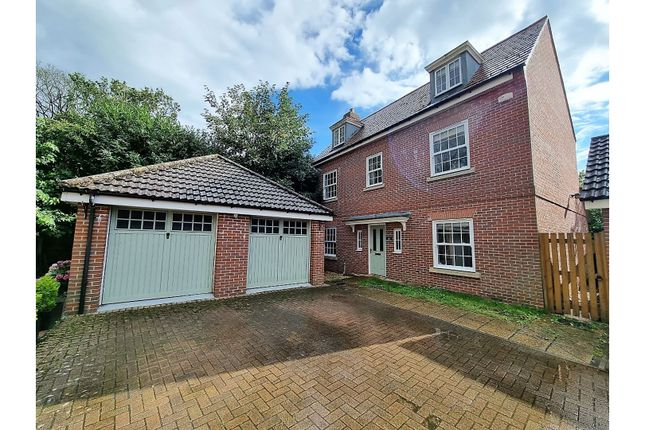 Thumbnail Detached house for sale in Whitebeam Close, Colchester